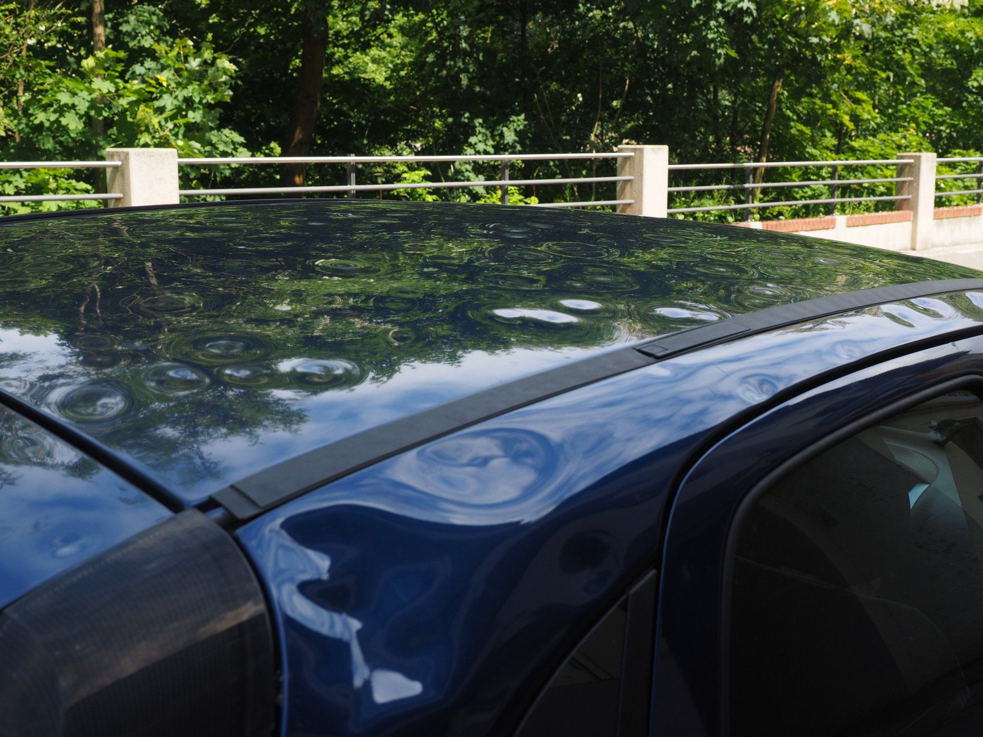 hail damage to your car